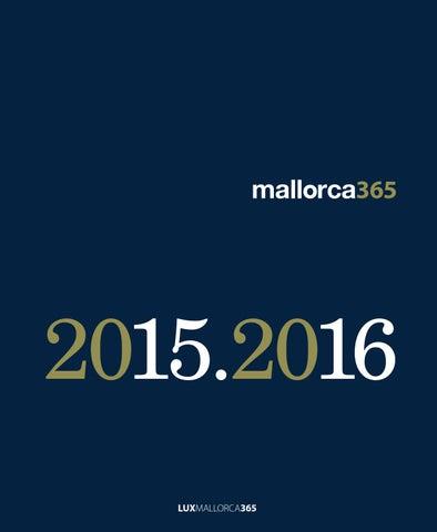 Mallorca365 2015. 2016 by LUXMALLORCA365 issuu