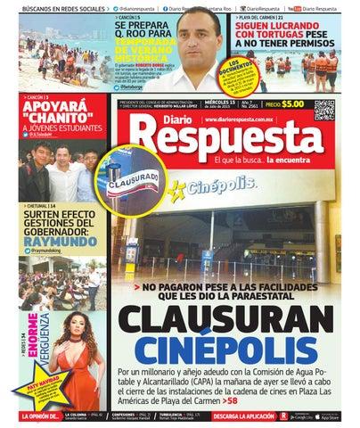 Diario Respuesta 15 de Julio de 2015 by Diario Respuesta - issuu b3304340217f6