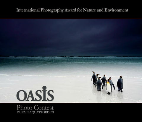premium selection 7bcea 6a512 Catalogo Oasis Photo Contest 2014 by OASIS Magazine of Wildlife ...