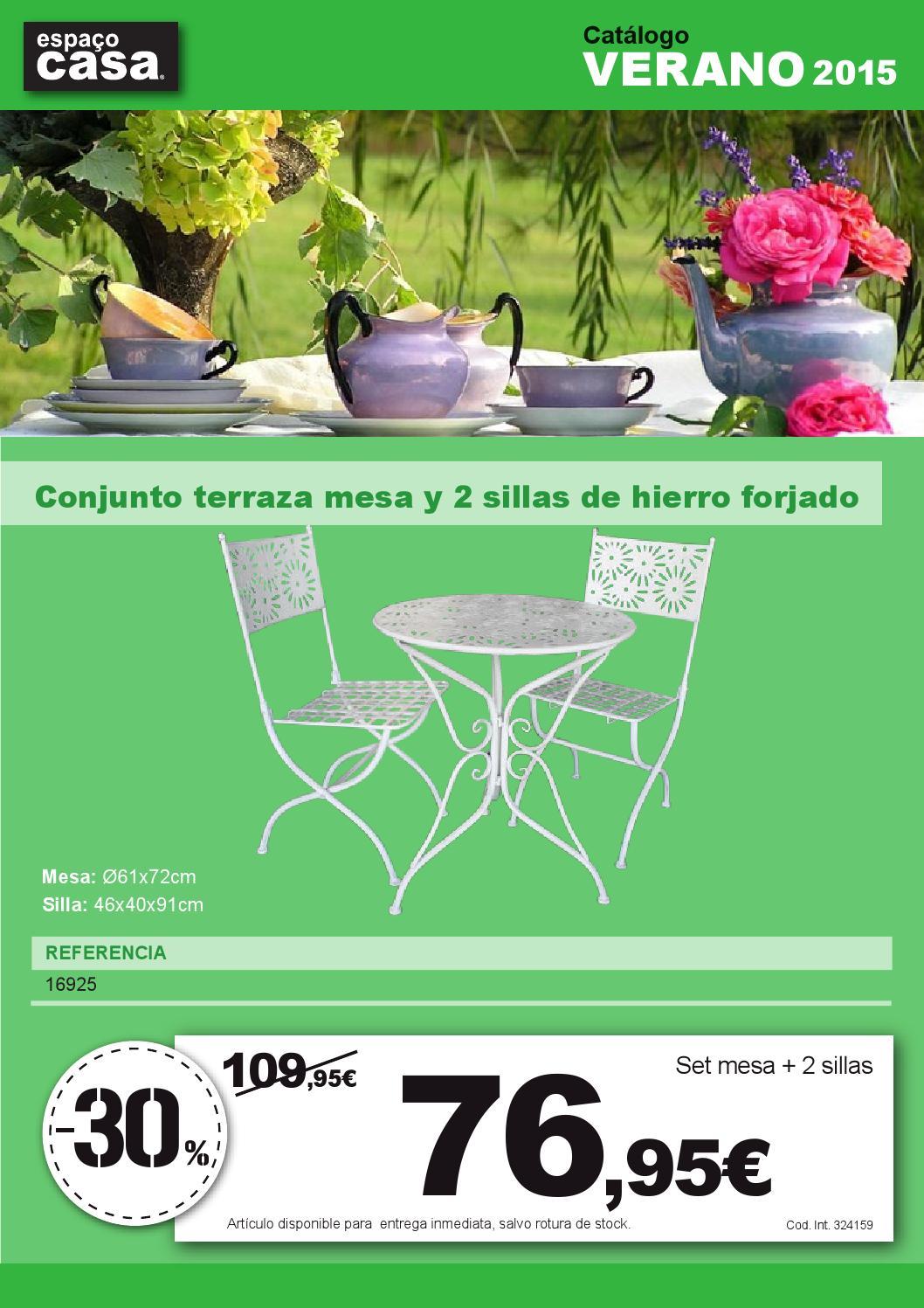 Catalogo espa o casa aire libre 2015 by espa o casa issuu for Espacio casa catalogo