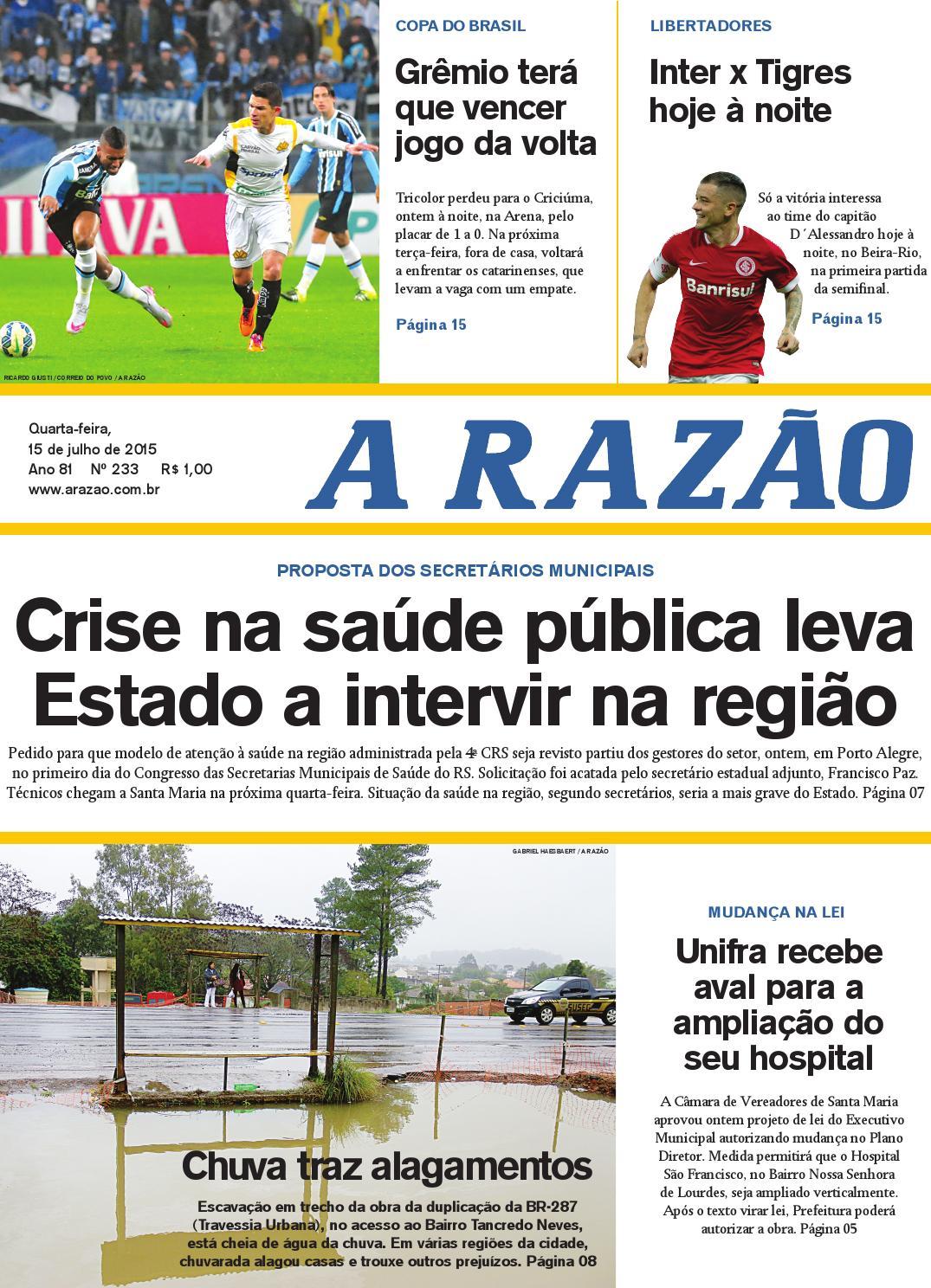 42a2b43052 15 07 2015 by Jornal A Razão - issuu