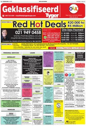 red hot deals bellville