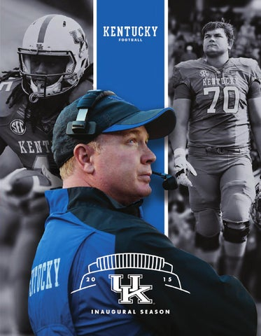 2015 Kentucky Football Media Guide by University of Kentucky  for sale