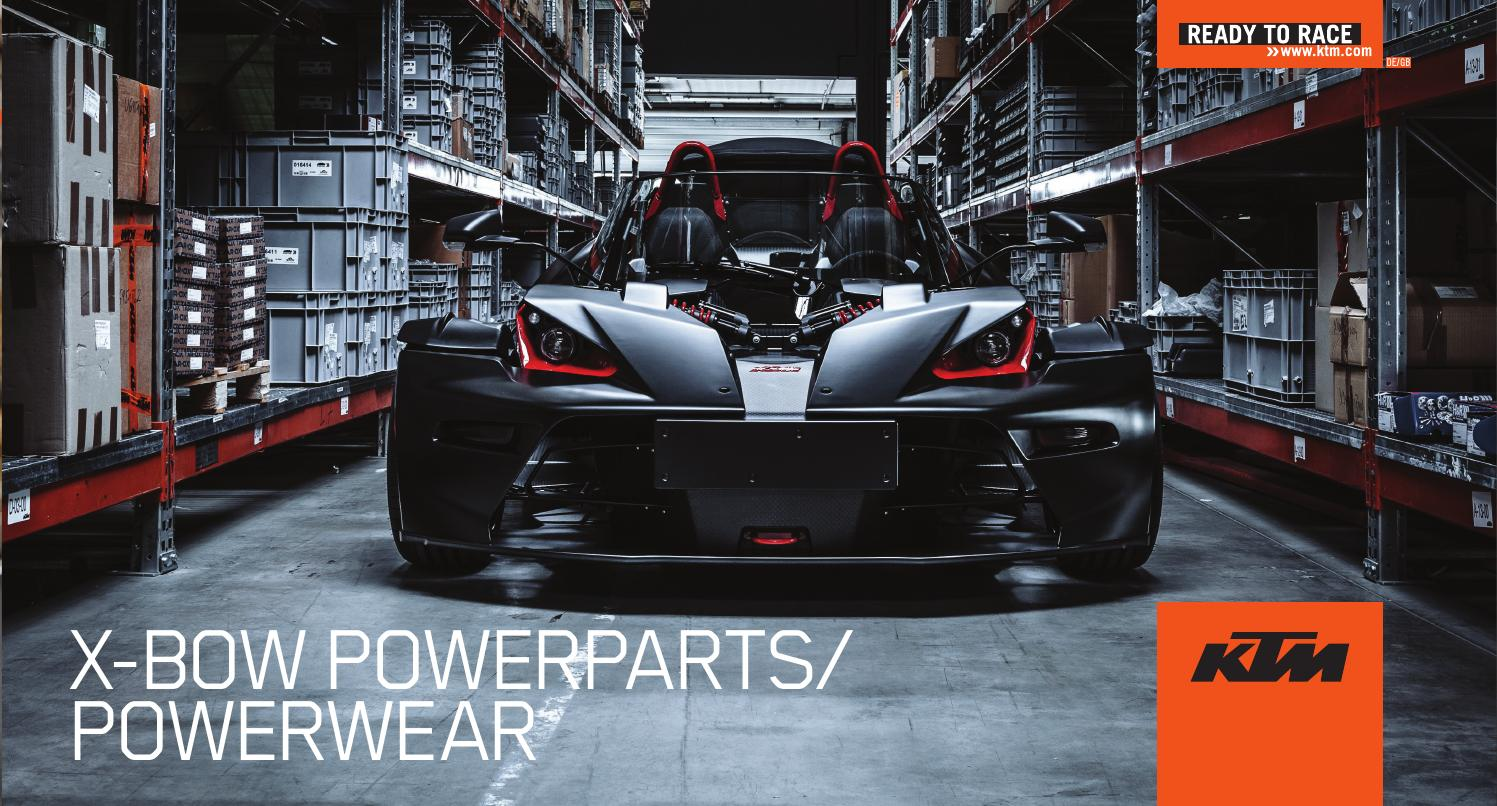 X-BOW PowerParts/PowerWear 2015 by KTM GROUP - issuu