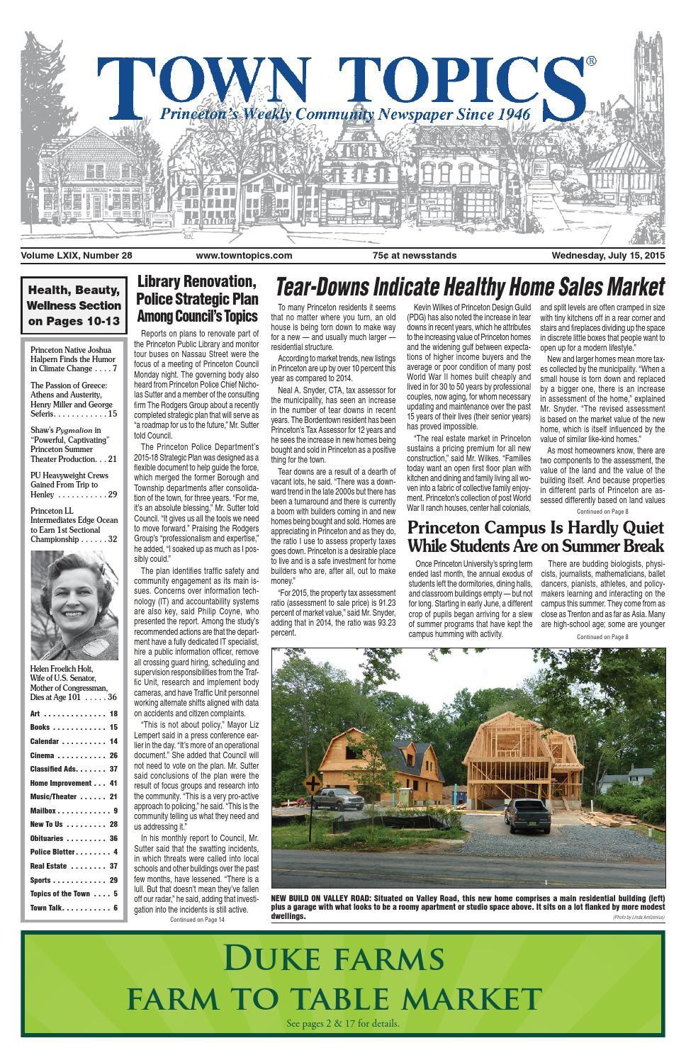 Town Topics Newspaper July 15 2015 By Witherspoon Media Group Issuu River Raider Sport Cage Kit