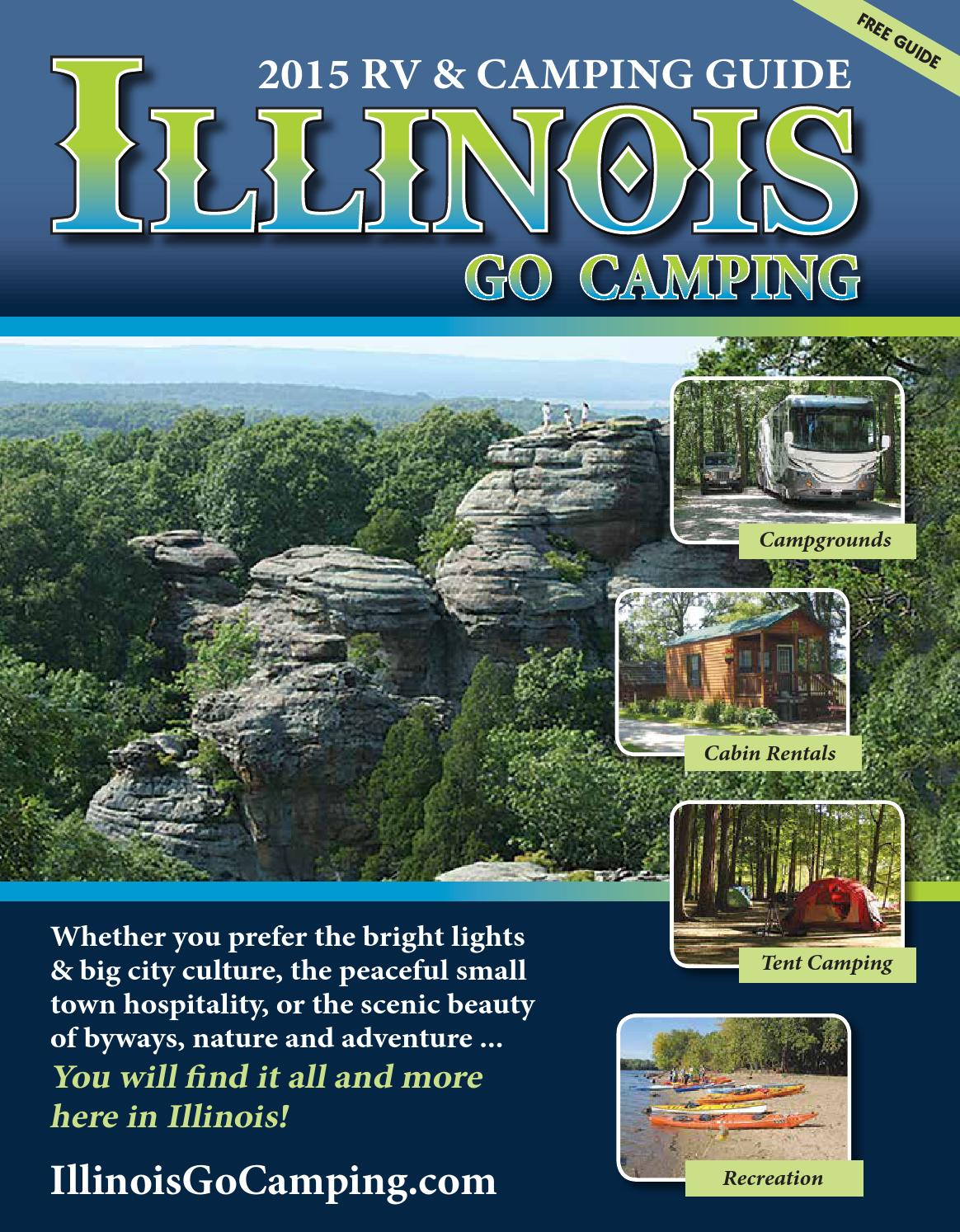 2015 Illinois Rv Camping Guide By Ags Texas Advertising