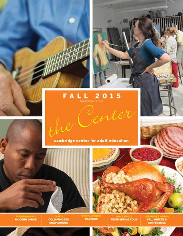 Ccae fall catalog 2015 by cambridge center for adult education issuu f a l l fandeluxe Choice Image