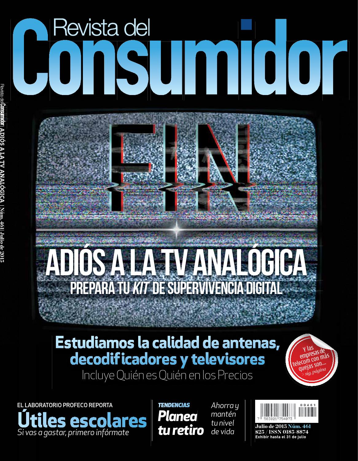 3cabcfef1c Revista del Consumidor 2015 Julio 2015 Ed 461 by PROFECO - issuu