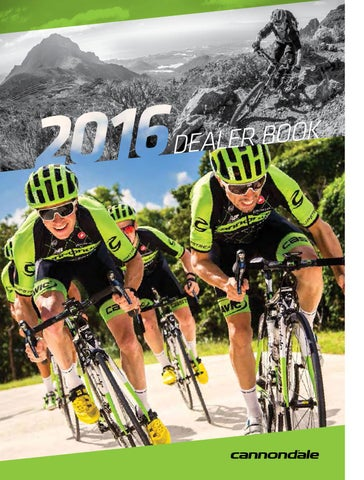 Catalogo Cannondale 2016 by BikeMTB.net - issuu 039daa383