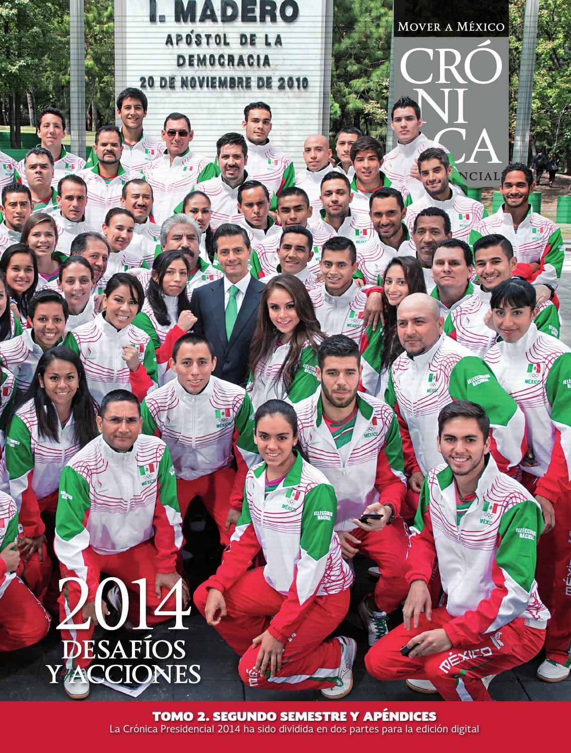 Cr Nica Presidencial 2014 Tomo 2 By Presidencia De La Rep Blica  # Muebles Gaza Ocotlan