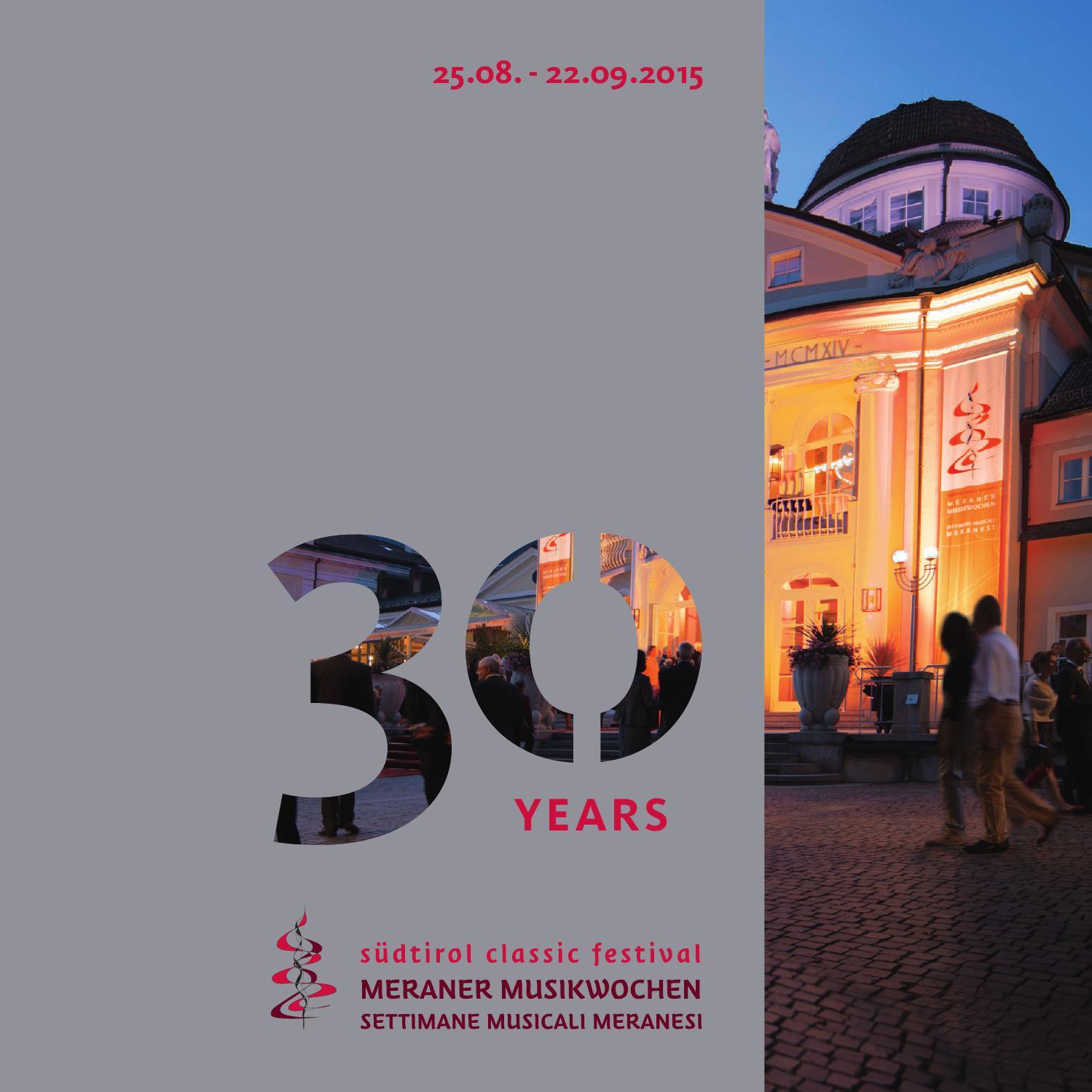 Meraner musikwochen 2015 by stingel grafik issuu for Azienda soggiorno merano