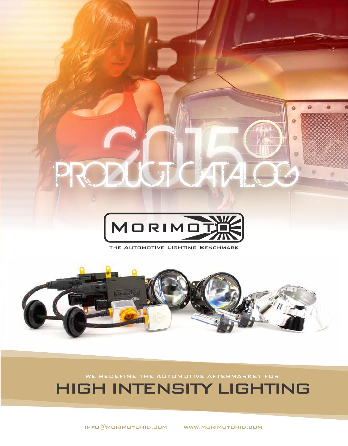 Morimoto 2015 Product Catalog By Lighting Issuu Trs 9007 Wiring Harness Issues Wrx