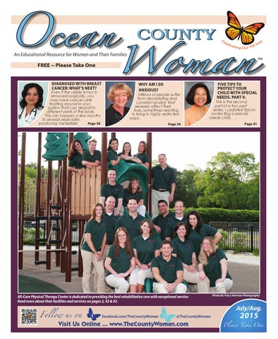 1bad9a272c06f Ocean County Woman - 2015 July August by The County Woman - issuu