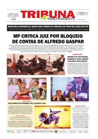 Edição número 2396 - 16 de julho de 2015 by Tribuna Hoje - issuu 7f3f8bbfe1a