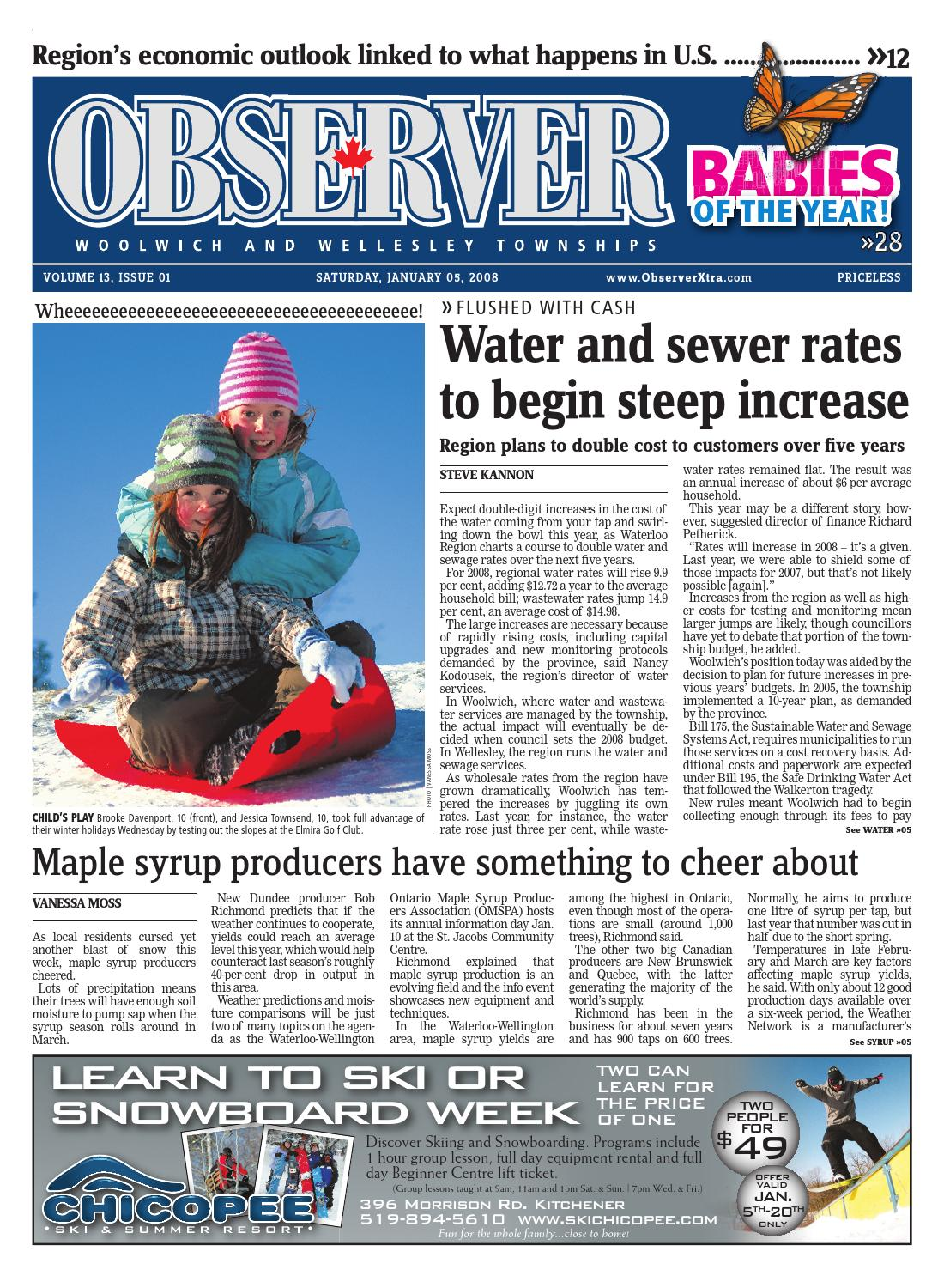 January 05, 2008 by Woolwich Observer - issuu