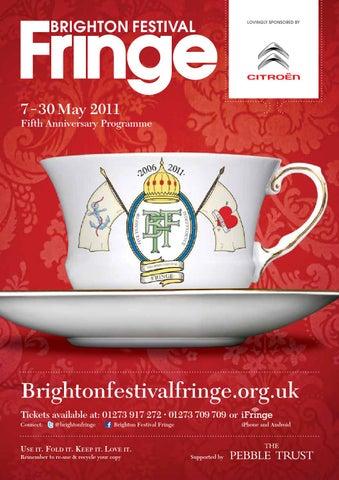 f6bab7dbe Brighton Fringe Brochure 2011 by Brighton Fringe - issuu