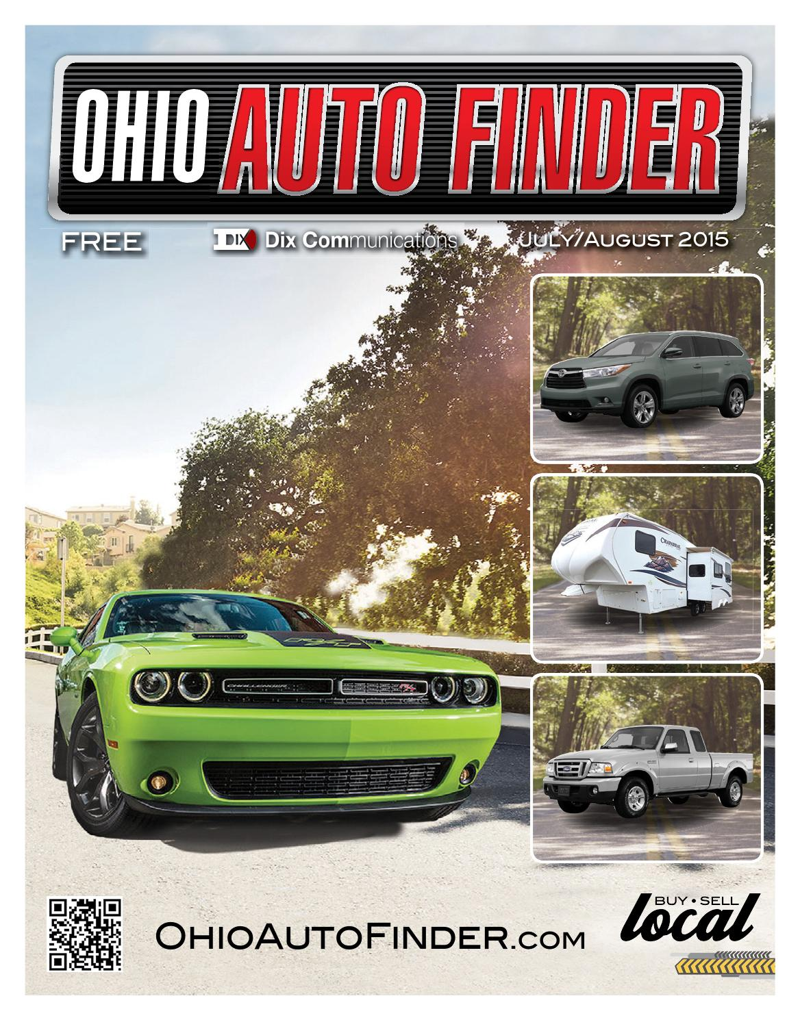 Ohio Auto Finder - July/August 2015 by GateHouse Media NEO ...