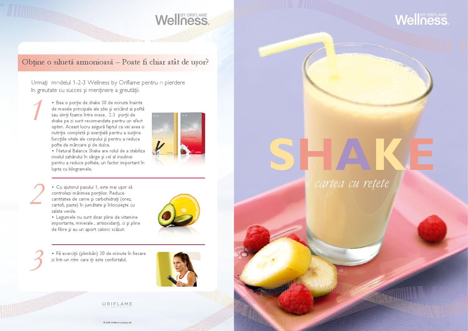vanilie pierdere în greutate shake)