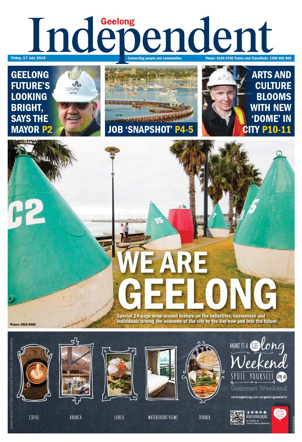 Geelong Independent 17th July 2015 By Star News Group Issuu