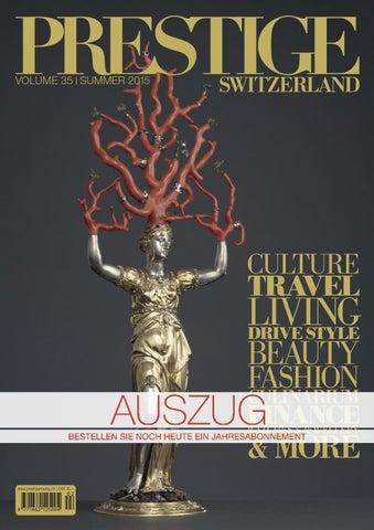 PRESTIGE Switzerland Volume 35 Auszug by rundschauMEDIEN AG