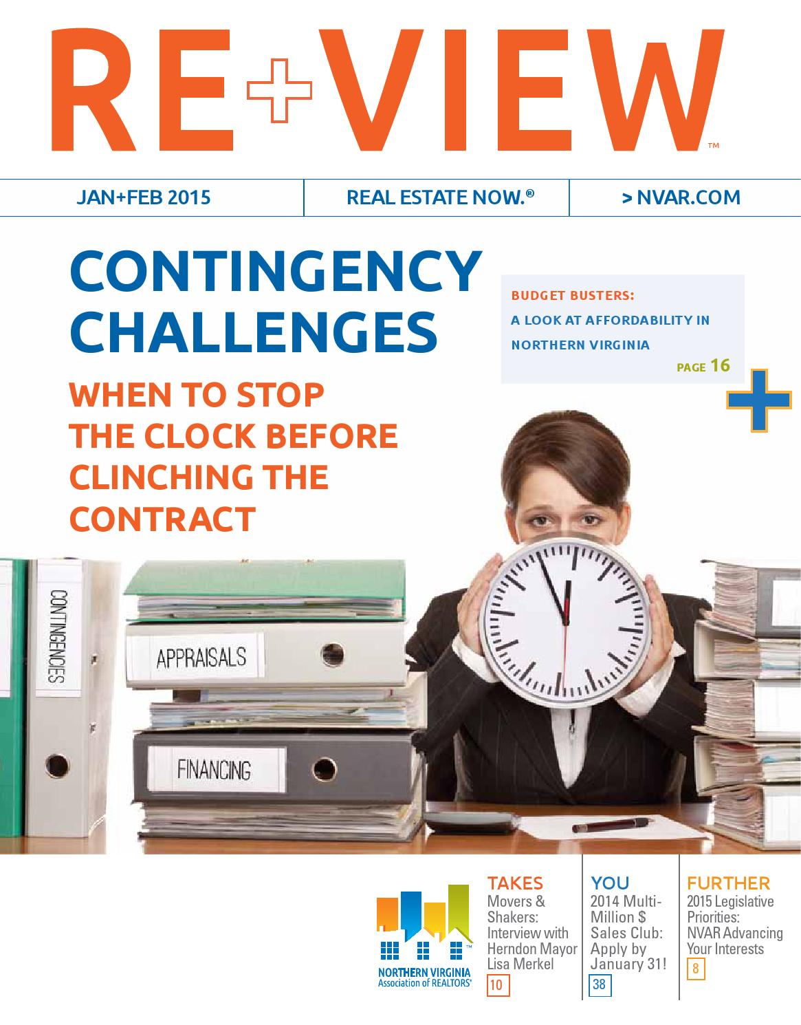 Re View Janfeb15 Issuu By Northern Virginia Association Of Realtors
