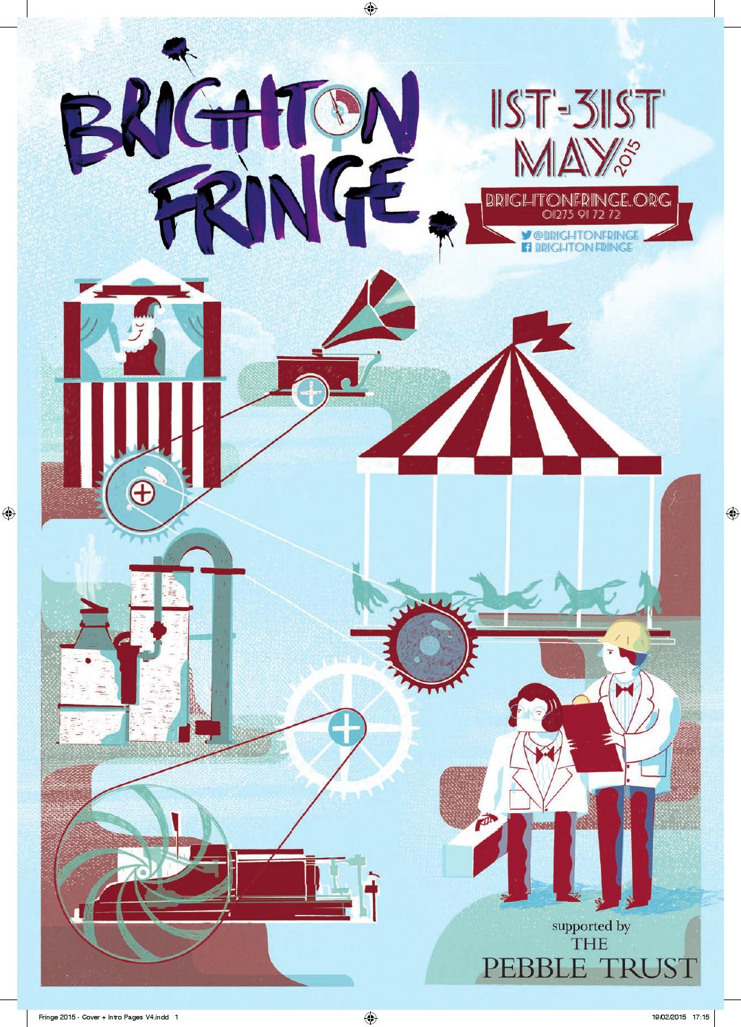 Brighton Fringe 2015 Brochure by Brighton Fringe - issuu