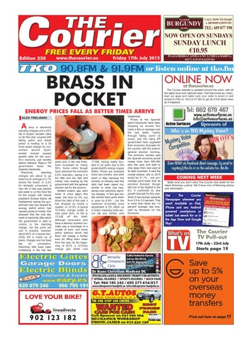 a0213128c5c8 The Courier - Edition 230 by The Courier Newspaper - issuu