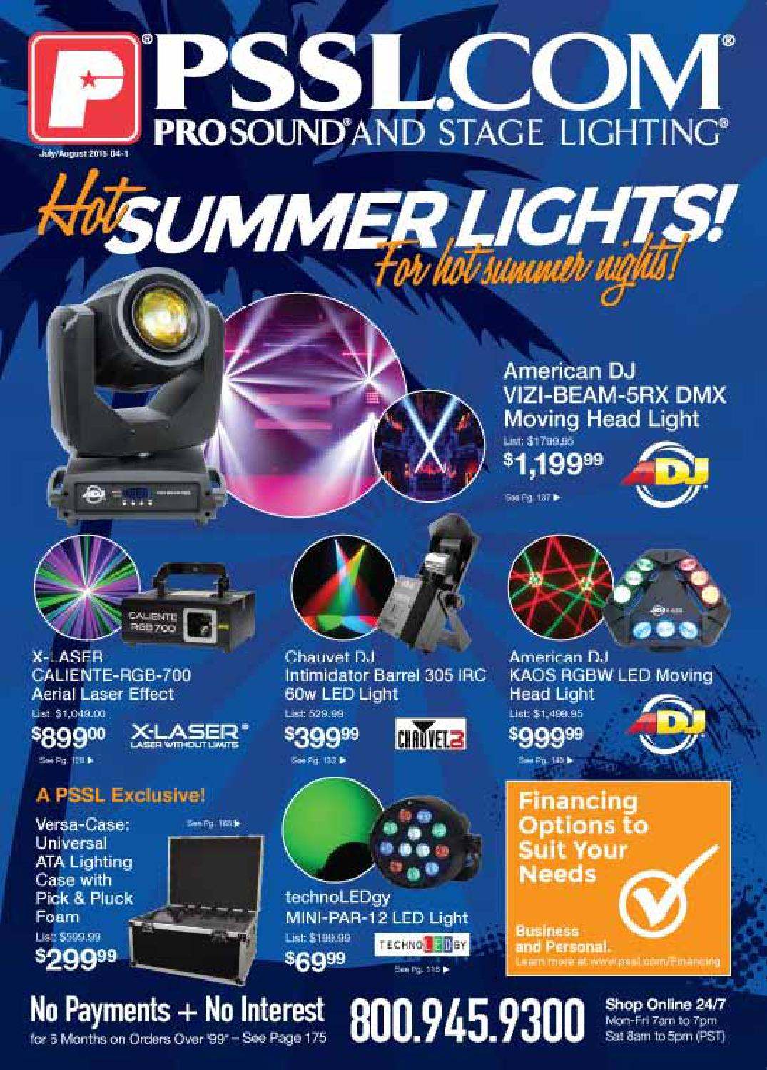 2015 julyaugust by pssl com prosound stage lighting issuu