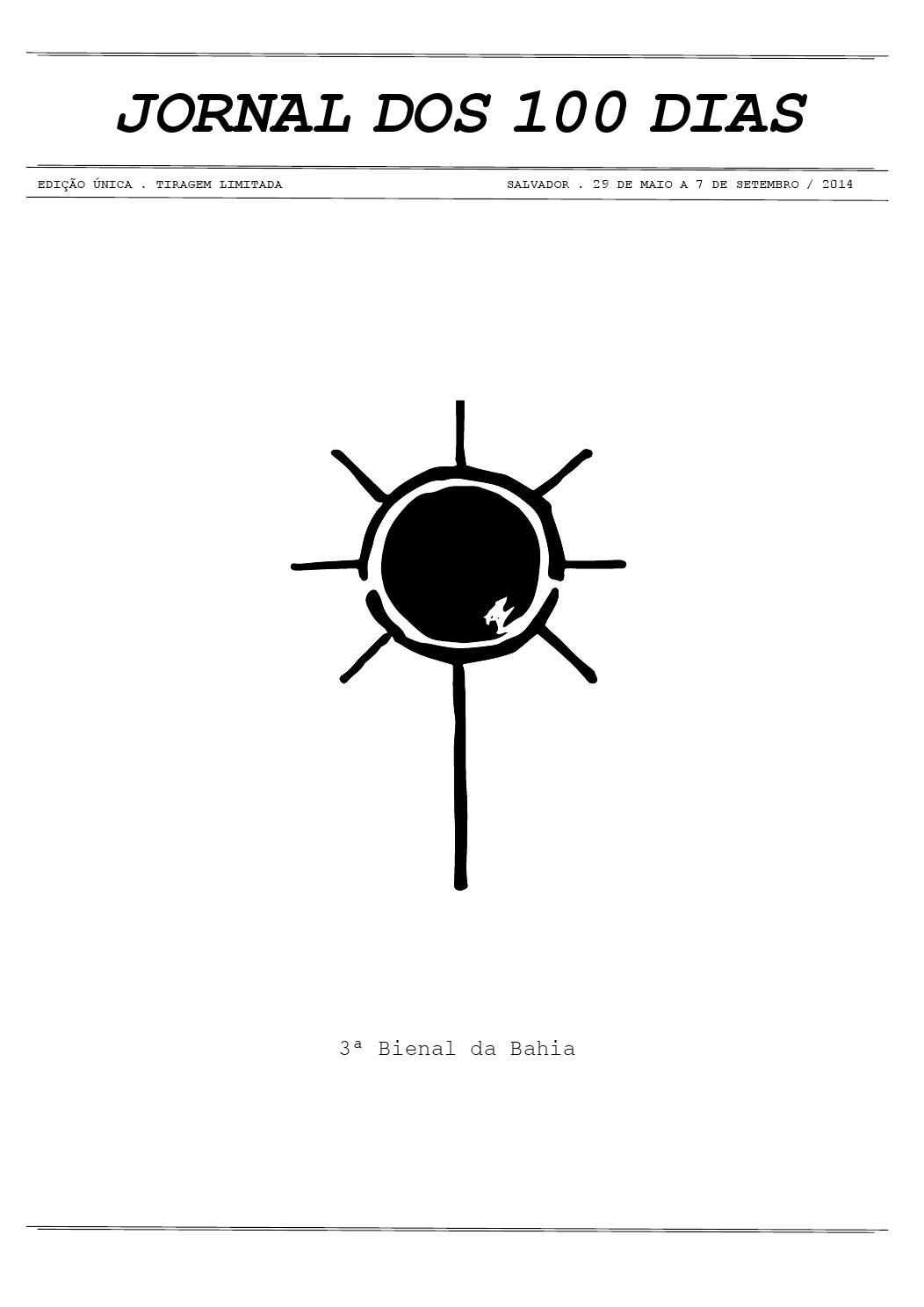 42615bccd21c5 Jornal dos 100 dias by Museu de Arte Moderna da Bahia (MAM-BA) - issuu