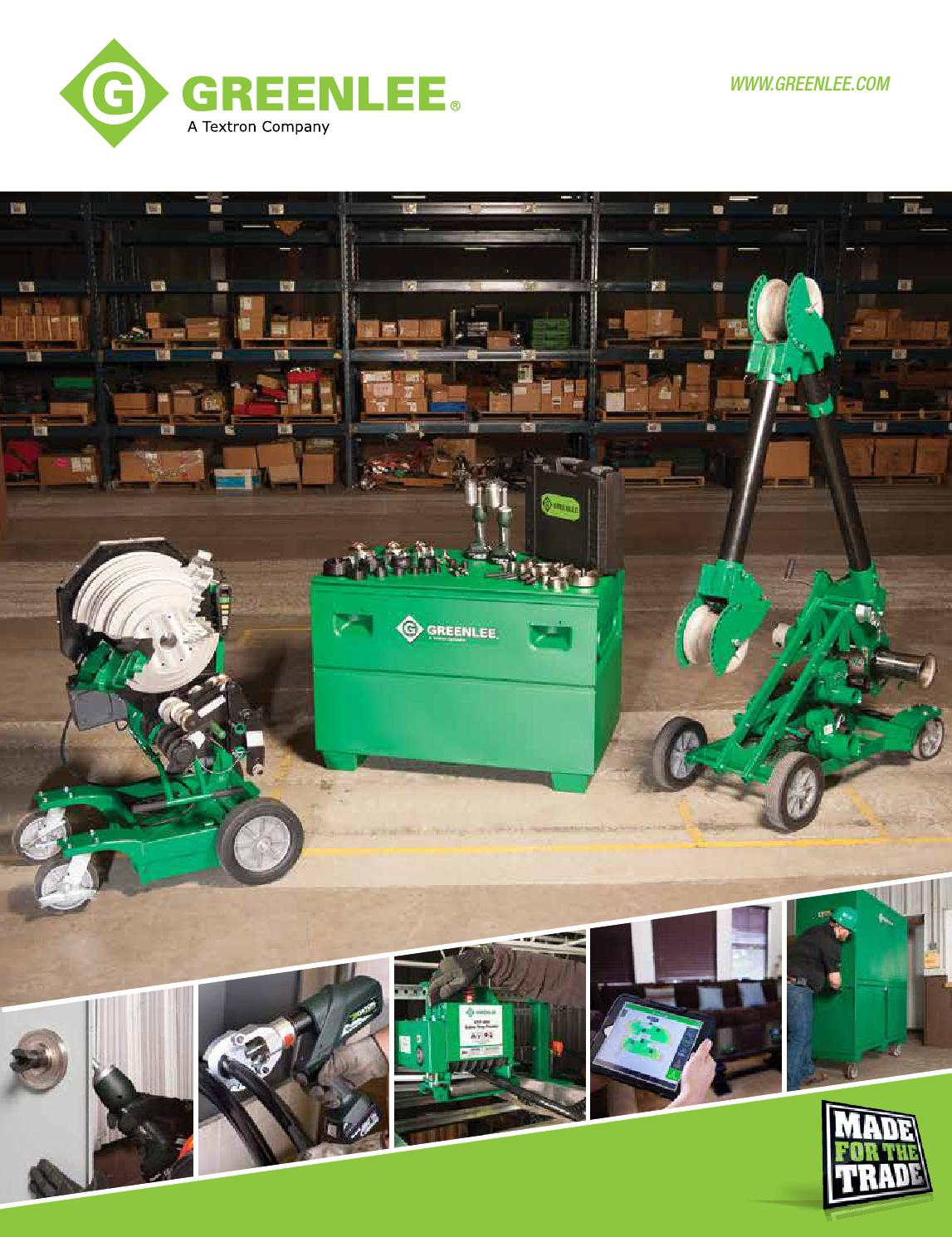 Greenlee 2015 Full Line Catalog Low Resolution Compressed1 By Delta Tang Crimping 3 Hole Cable Issuu