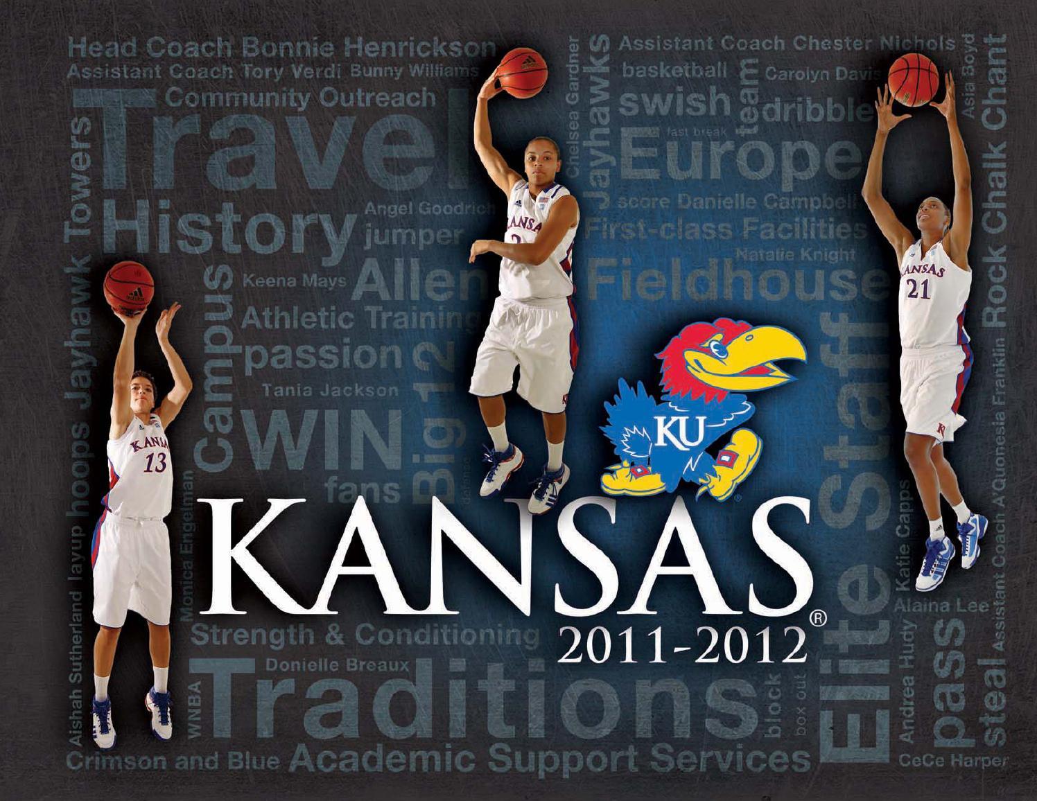 2011 12 Women S Basketball Media Guide By Kansas Athletics Issuu