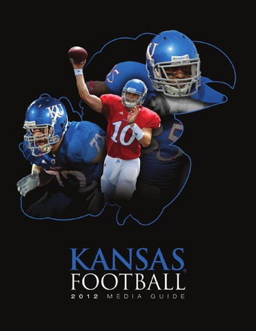 2012 Football Media Guide by Kansas Athletics - issuu 4ca34b177