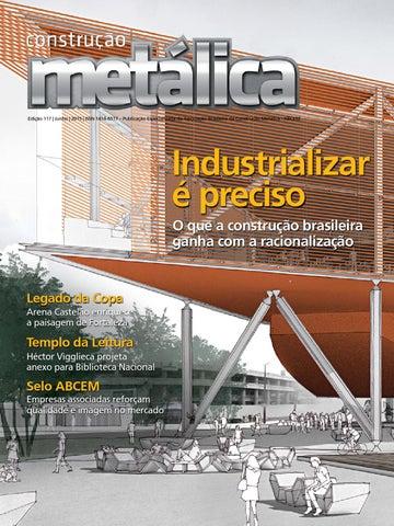 Revista Construção Metálica by Prodweb - issuu 4485cf88d3da0