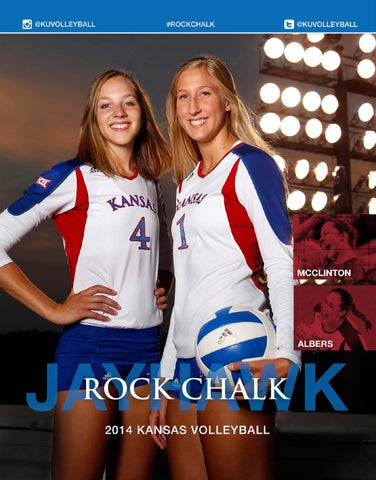 2014 Kansas Volleyball Media Guide by Kansas Athletics issuu  for sale