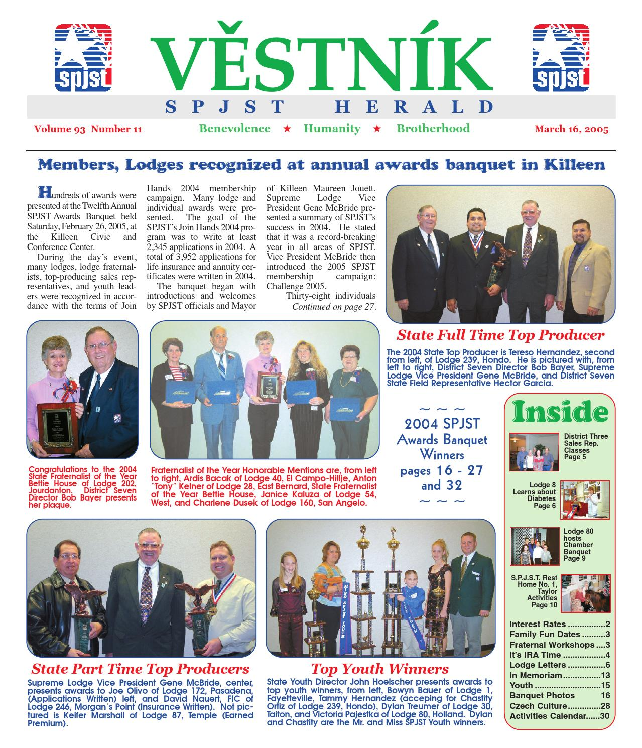 Vestnik 2005 03 16 By Spjst Issuu