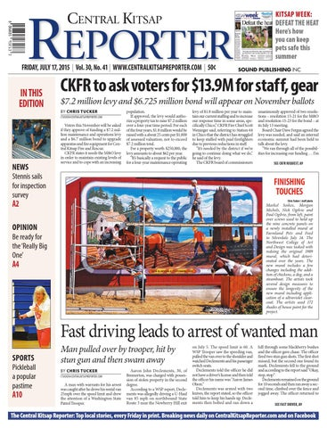 Central Kitsap Reporter July 17 2015 By Sound Publishing
