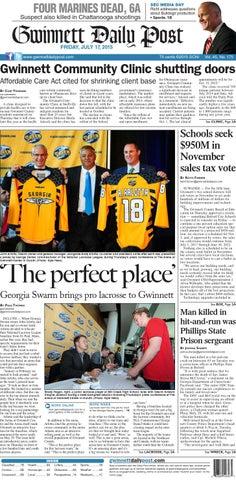 Gwinnett Daily Post — July 17 ed56cae7e