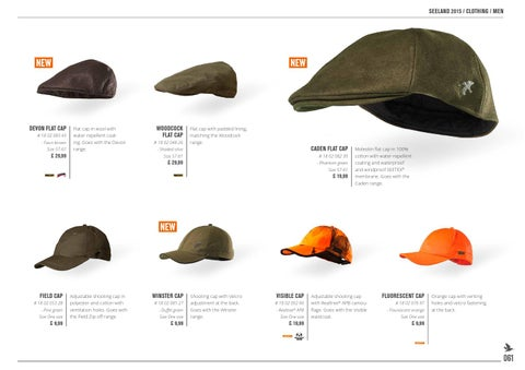 SEELAND 2015   CLOTHING   MEN. NEW. DEVON FLAT CAP ... aa10e92a9c4