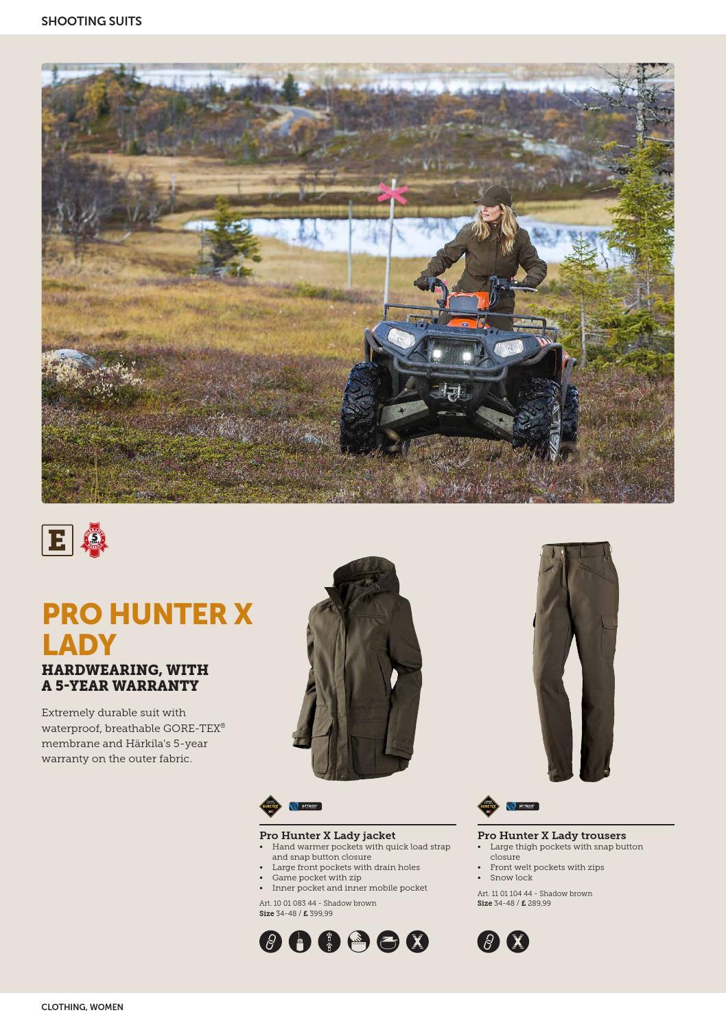 Pro Hunter X Lady Trouser