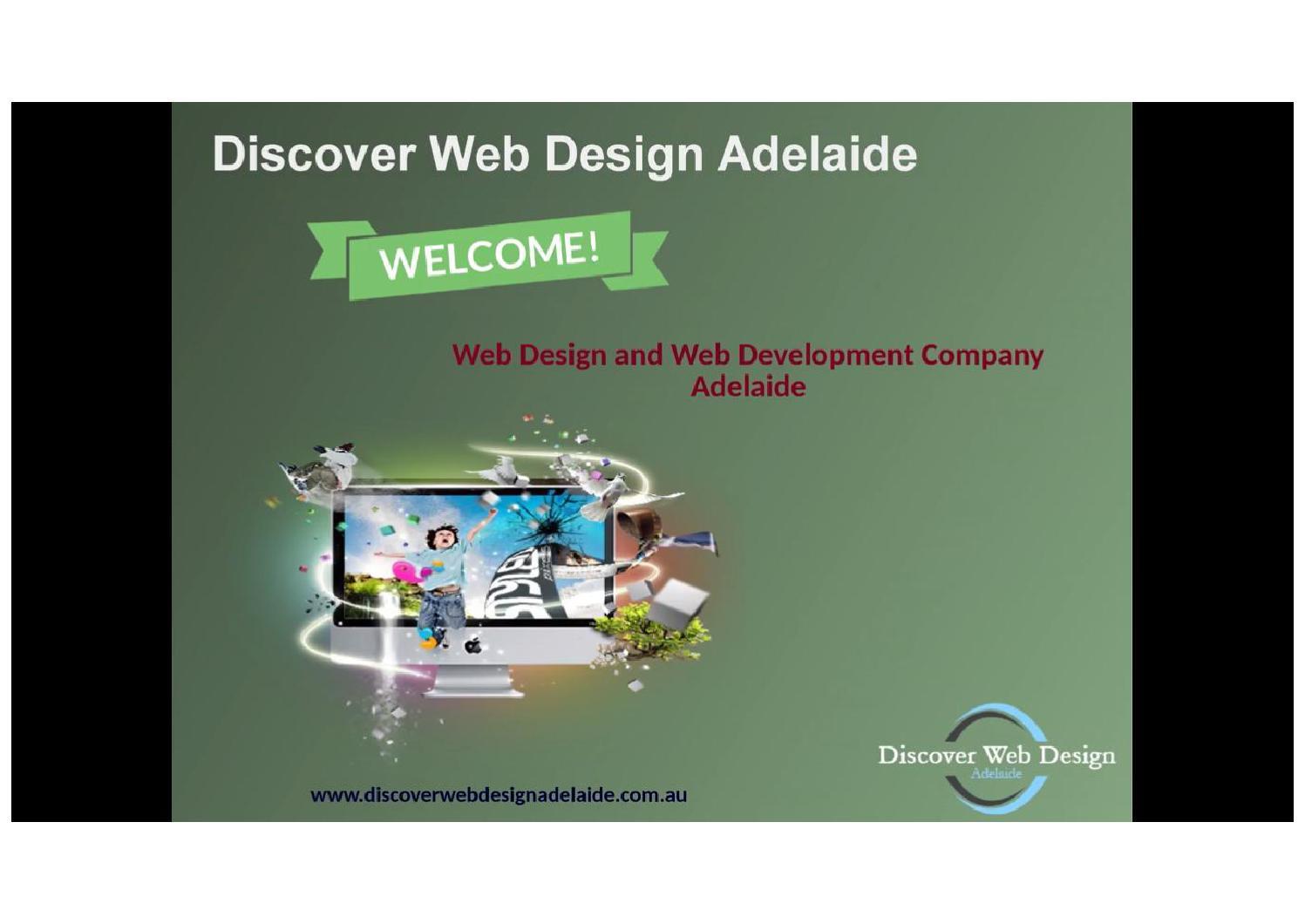 Web design adelaide provides responsive web design for Adelaide design