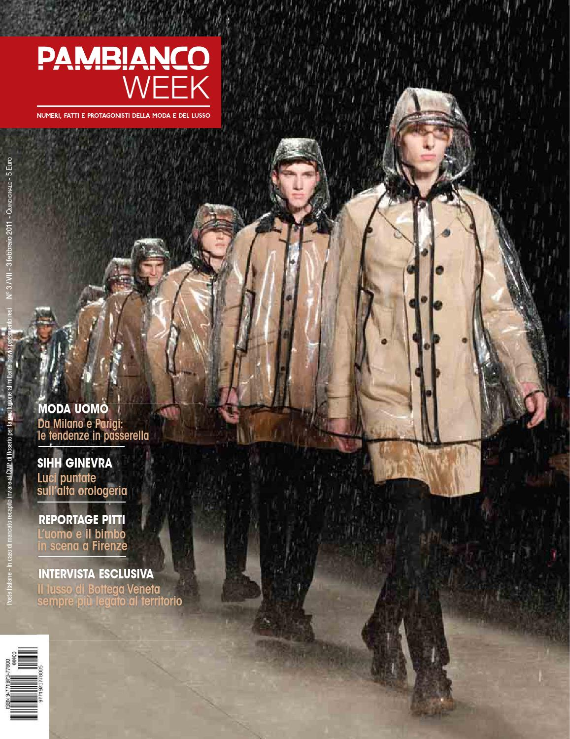 Pambianco WEEK N.3 VII by Pambianconews - issuu 5a45a477691