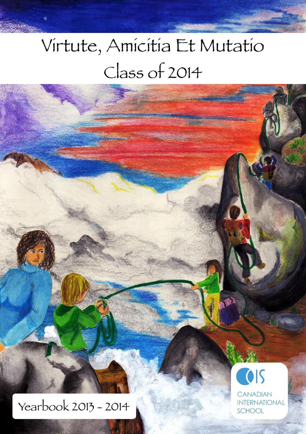 Canadian International School Ms hs year book 20 by madhukar sv ...