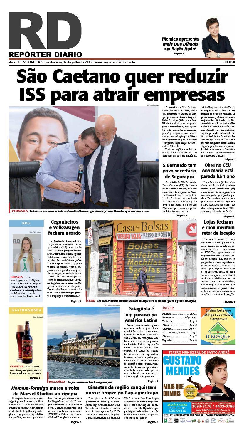 dd89a0e05 Edição 17072015 by Repórter Diário - issuu