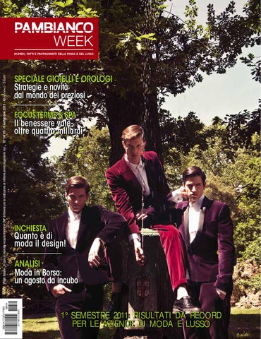 Pambianco WEEK N.14 VII by Pambianconews - issuu a12d0a54e4d