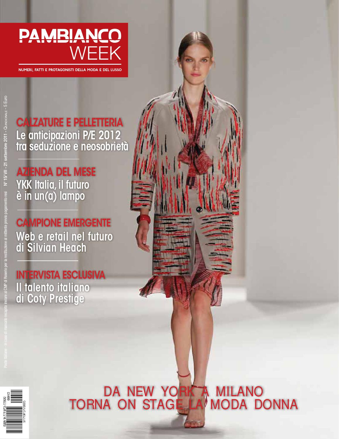 Pambianco WEEK N.15 VII by Pambianconews - issuu 583741511c0