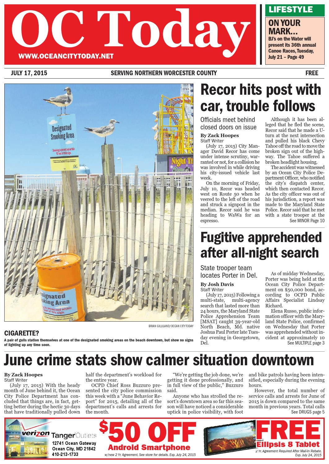 7/17/15 Ocean City Today by ocean city today - issuu