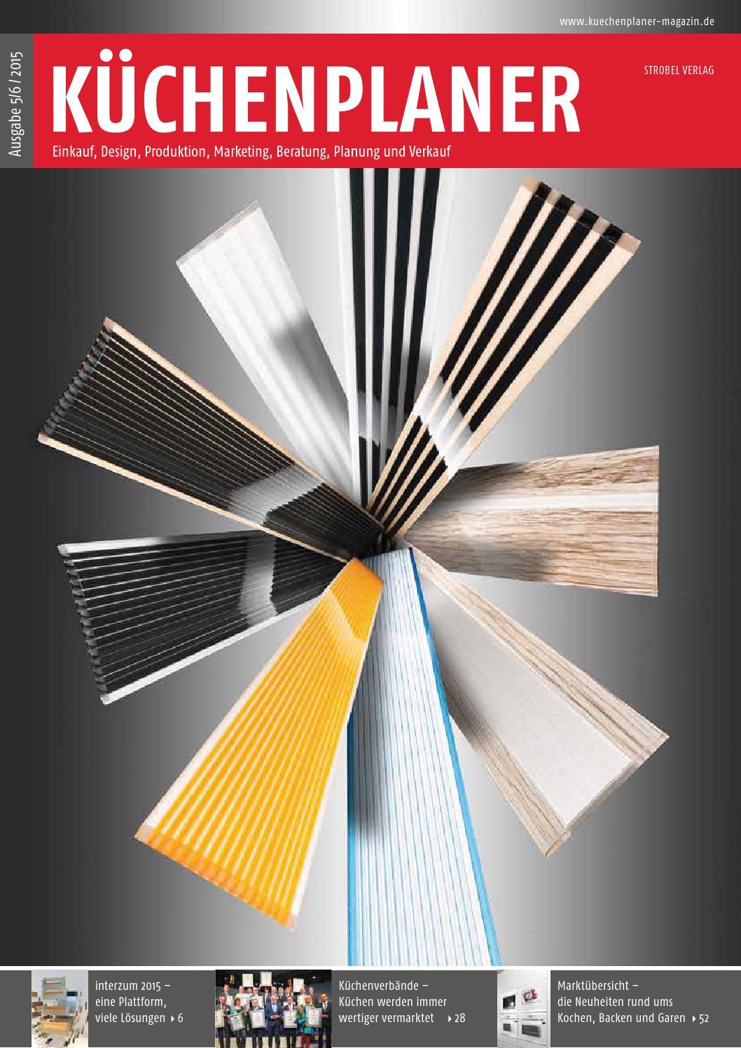 KÜCHENPLANER Ausgabe 5/6 2015   Probeheft By Strobelverlag   Issuu