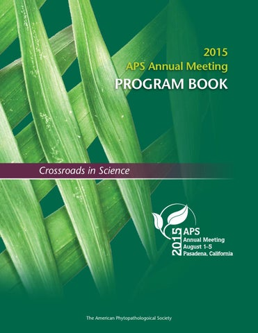 2015 APS Annual Meeting Program Book by Scientific Societies - issuu
