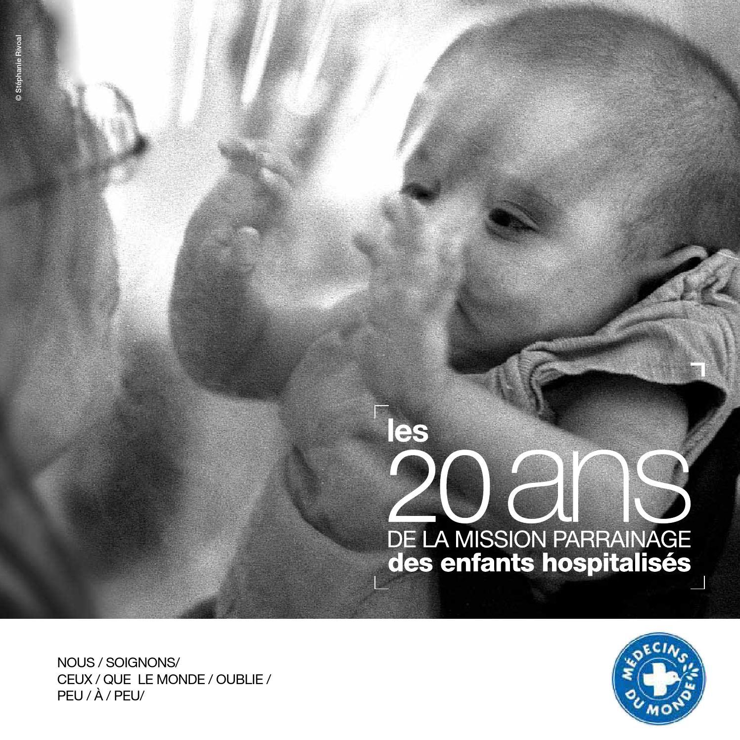 c24ed6eee0e5 20 ans de la Mission Parrainage des enfants hospitalisés by Médecins du  Monde - issuu