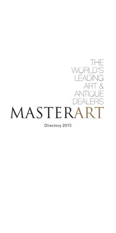 2015 Masterart Directory By Artsolution Sprl Issuu
